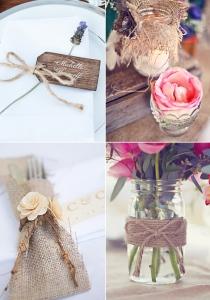Decoración y detalles para bodas