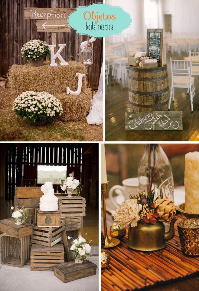 Recuerdos Para Matrimonio Rustico : Objetos boda rustica