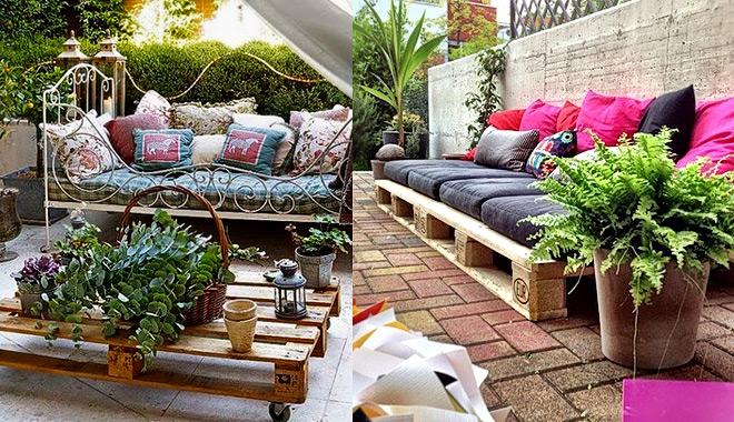 jardines de palets