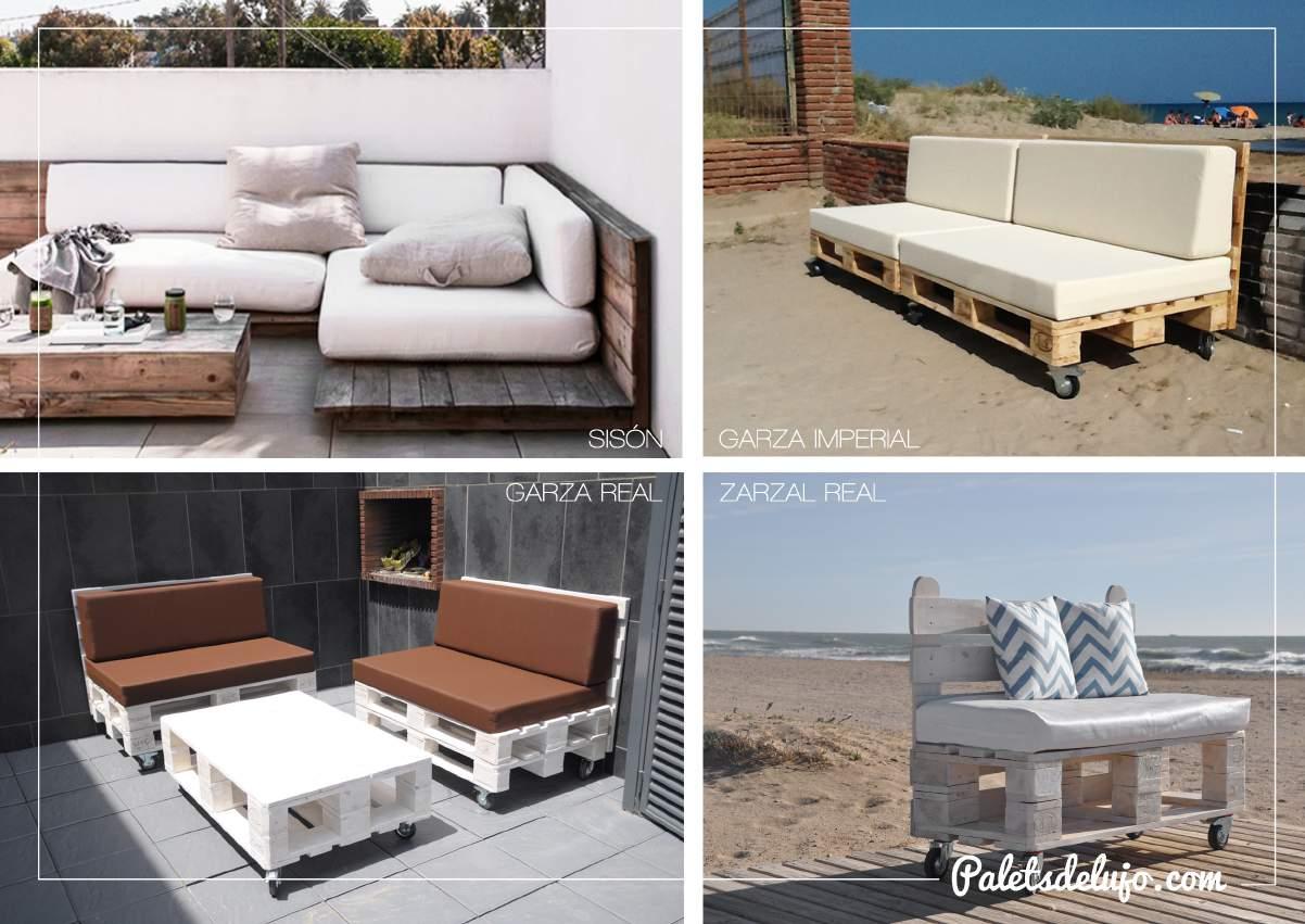 Productos de cat logo palets de lujo for Muebles de palets precio