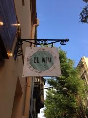 Banderola Para restaurante El Niu